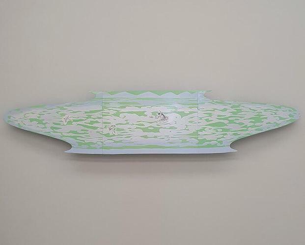 """Alicia Herrero """"Estimate U$S 5.000.000.- Quianlong Vase"""" 1998"""