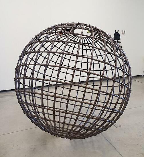"""Mona Hatoum """"Globe"""" (2007)"""