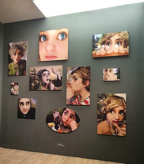 Flavia Da Rin. Sin título, 2004-2007Instalación fotográfica. Colección de la artista